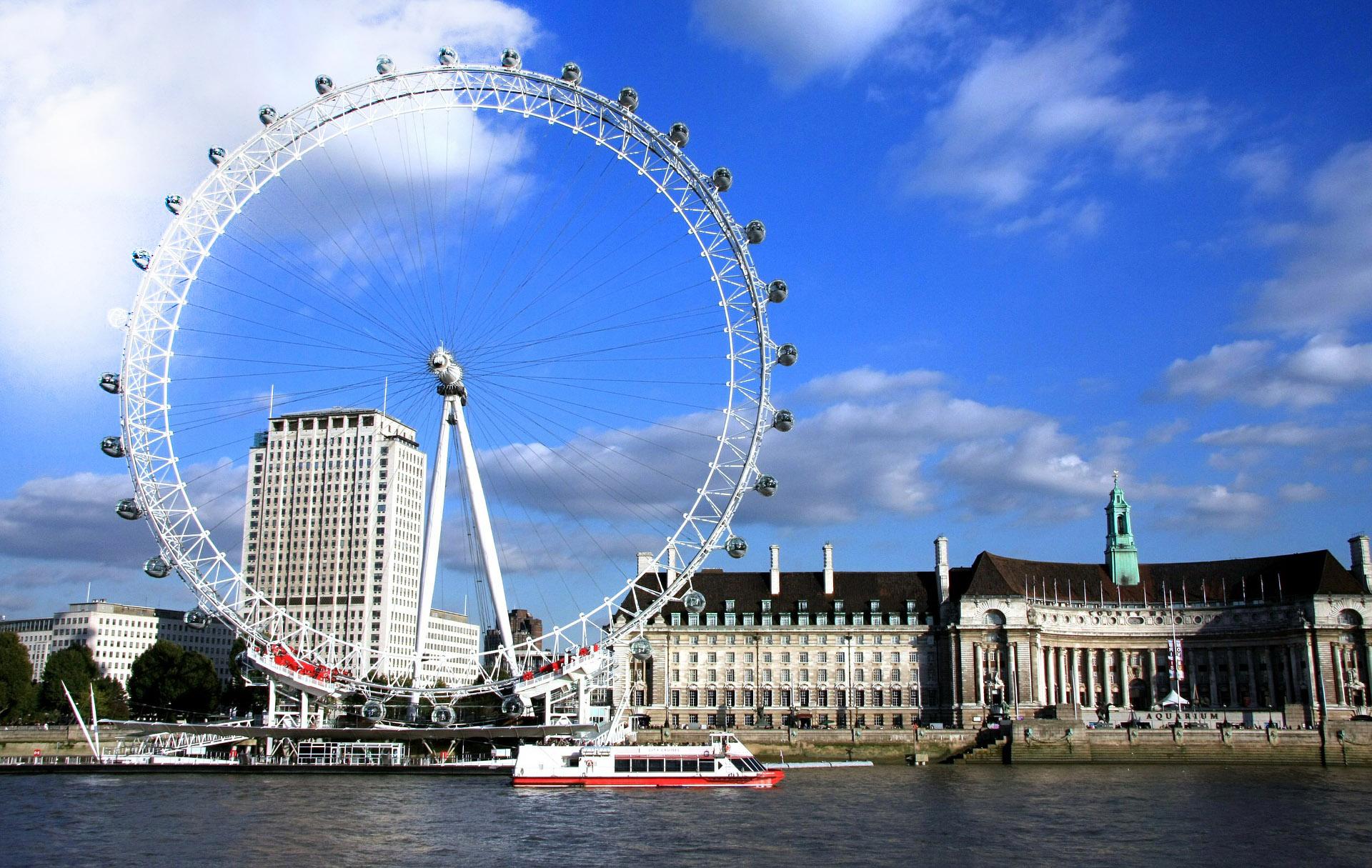 Tours y atracciones en Londres y en el Reino Unido: tiquetes para el  London Eye