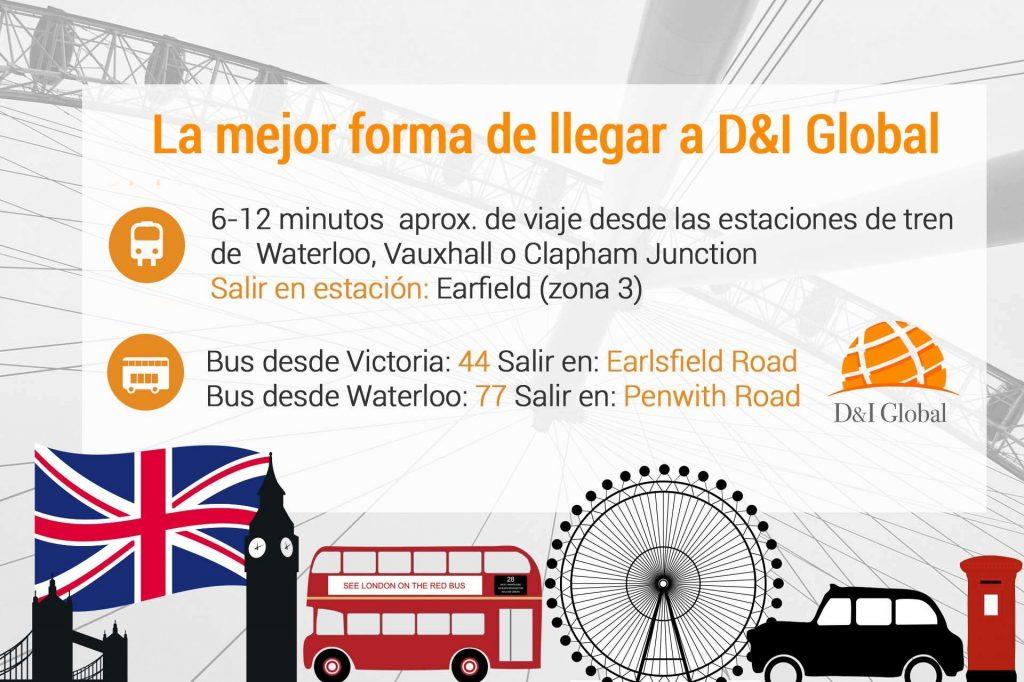 Estudia en Londres : D&I Global